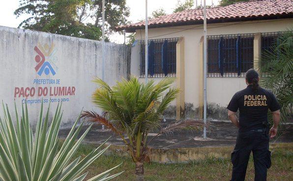 Agente da PF na Prefeitura de Paço do Lumiar.