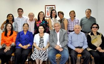 Secretário Pedro Fernandes com os membros do Conselho Estadual de Educação