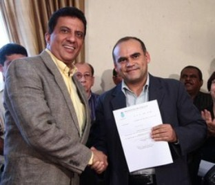 Palácio e Lima foram denunciados pelo MPF por improbidade (Foto: Paulo Soares/O Estado)
