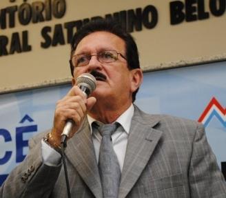 Ex-deputado estadual e atual presidente do TCE, Edmar Cutrim.