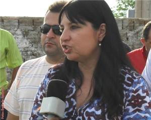 A prefeita de Presidente Dutra e conhecida da Justiça, Irene Soares.
