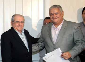 Santiago Servin e João Castelo