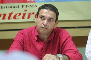 Presidente municipal do PT, Fernando Silva