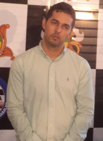 O agiota Gláucio Alencar Pontes, preso acusado de mandar executar um pai de família.