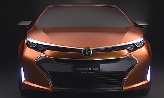 Novo modelo do Corola.