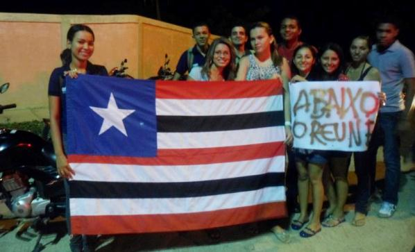 Alunos da UFMA do Campus de Bacabal.