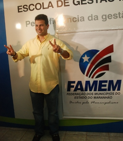 Gil Cutrim comemorou o resultado que o consagrou presidente da FAMEM.