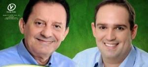 Prefeito Zito Rolim e vice-prefeito de Codó