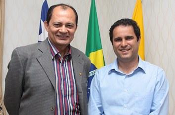 Vice-prefeito de Imperatriz é recebido por Edivaldo Jr.