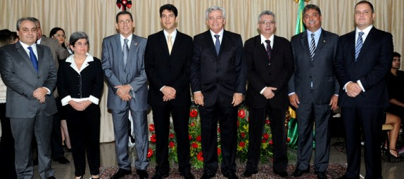Os deputados foram empossados nos cargos da Mesa.