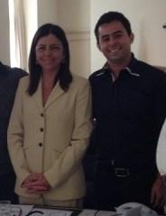 Roseana Sarney e o prefeito de Barra do Corda  Erick Costa