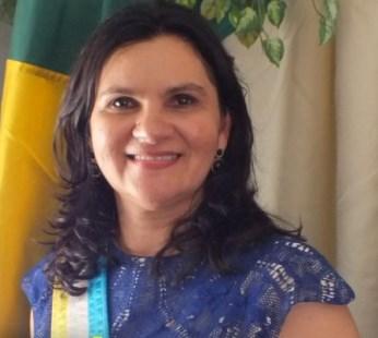 Prefeita Ludmila Almeida.