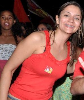 Patrícia Oliveira é filha do prefeito de Colinas.