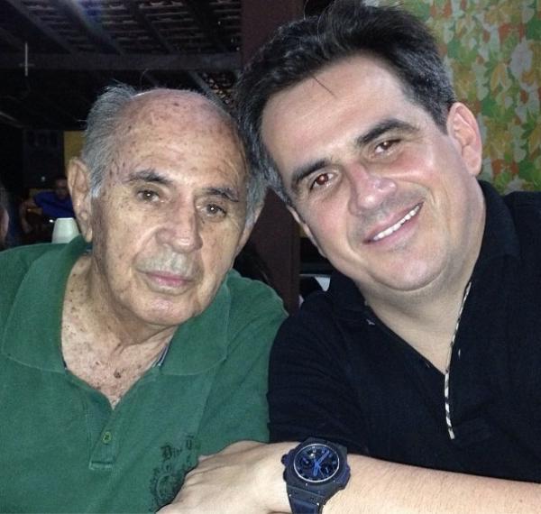 Senador com o pai Ciro Nogueira