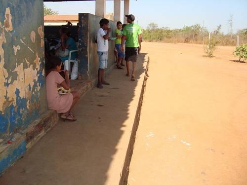 Alunos na cidade de Balsas (MA) sem terem onde comer suas merendas, segundo relatório da CGU Divulgação/CGU.