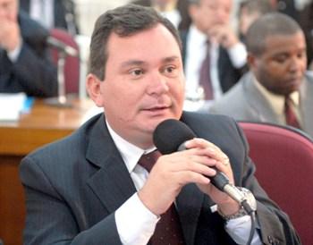Vereador Ivaldo Rodrigues.