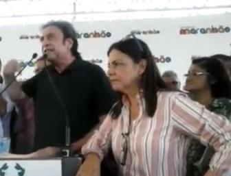 Ricardo Murad e Roseana Sarney.