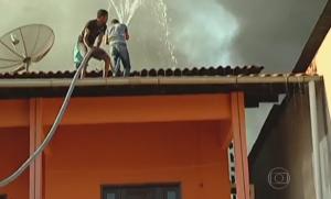 incêndio em vulcanizadora