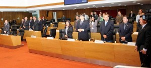 Plenário da Assembleia Legislativa.