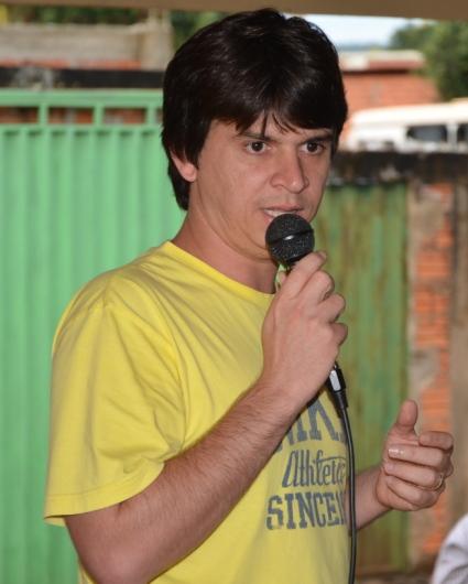 Elano, prefeito de Nova Colinas (foto: Zeqroz Neto).