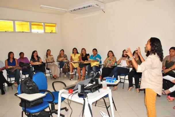 Informações sobre o PMAQ foram repassadas aos profissionais de saúde do município de Ribamar.