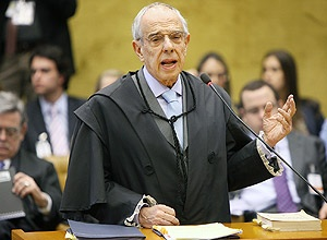 Thomaz Bastos, durante julgamento do mensalão