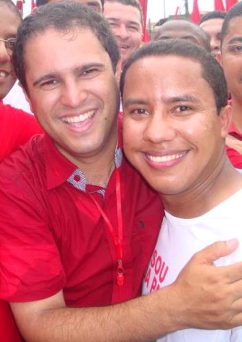 Edivaldo Holanda Júnior e Raimundo Penha (Secretário de Esporte).