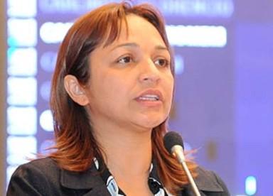 Deputada estadual Eliziane Gama.