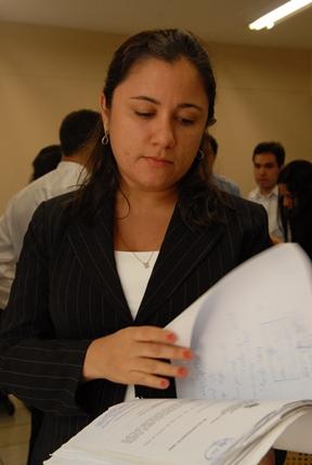 juíza Daniela de Jesus Bonfim Ferreira.