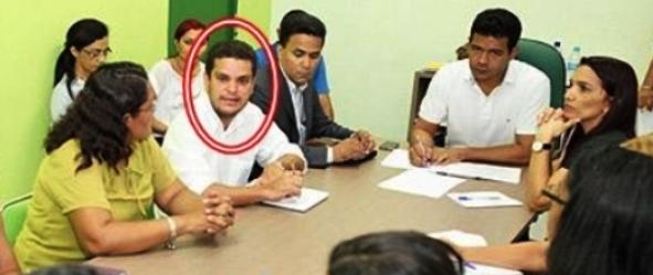 Saney foi atrelado a escândalo nacional.  Ele é braço direito do prefeito de Timon Luciano Leitoa.