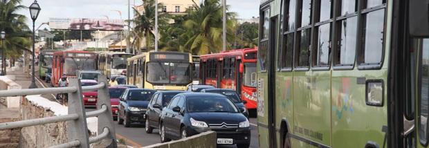 Ônibus voltam a circular normalmente em São Luís.