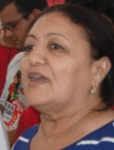 Ex-prefeita de Vargem Grande, Maria Aparecida.