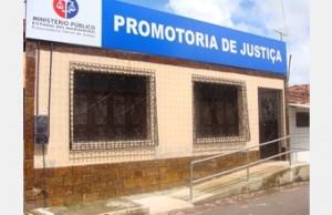 Fachada das Promotorias de Rosário
