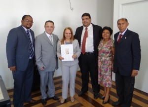 Corregedor, juíza Lewman e família