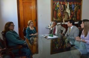 Cleonice Freire afirmou que o trabalho dos defensores é fundamental para impulsionar o andamento processual