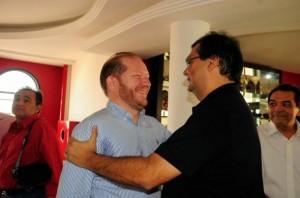 Flávio Dino e o seu amigo, agora inelegivel