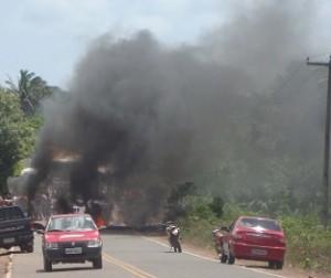 MA tinha sido bloqueada ano passado pela população (Fonte: Domingos Costa)