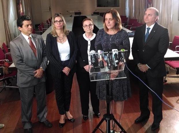 Secretária do Paraná, Maria Tereza Gomes, apresentou ferramenta que gerencia sistema carcerário