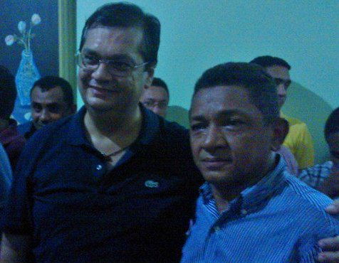 Flávio Dino e o condenado Luis da Amovelar