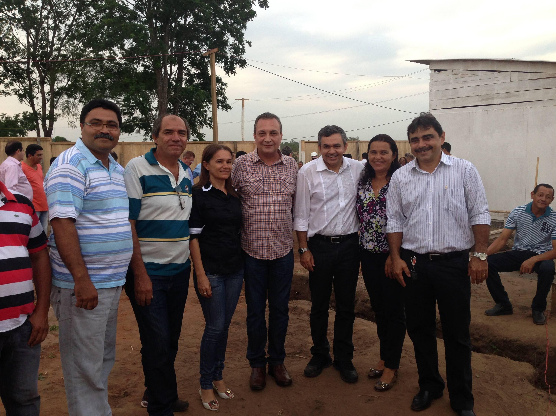 Antonio  Pereira, Luis Fernando e os vereadores de São Domingos