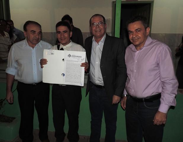 Antonio Pereira, Madeira e Hildo Rocha
