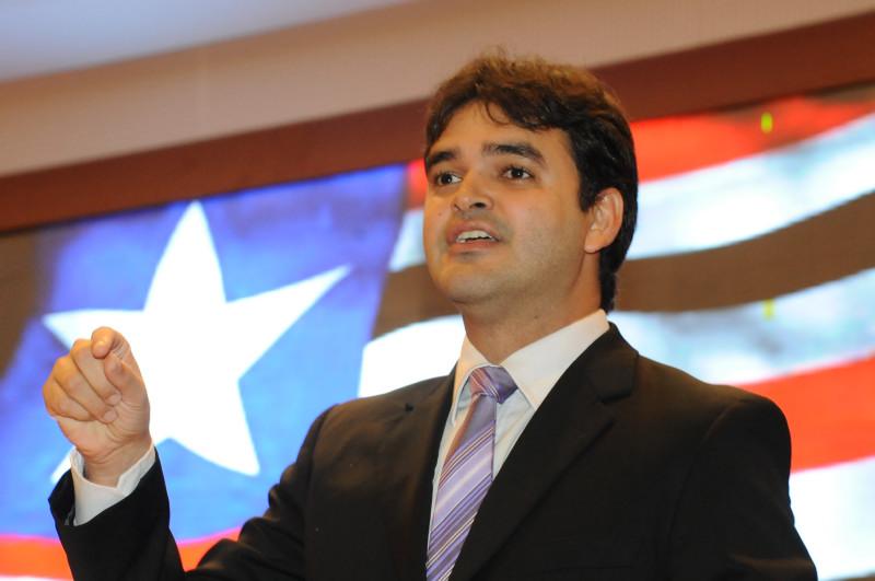 O falso moralista deputado estadual Rubens Júnior.