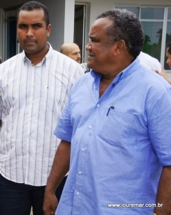 José Alberto, prefeito de Bacabal e o filho Alberto Filho, deputado federal.