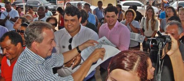 Luis Fernando na Raposa.