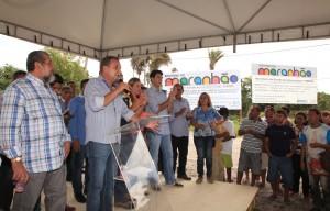 Secretário Luis Fernando Silva destaca a importância da obra para os municípios de Santo Amaro e Primeira Cruz