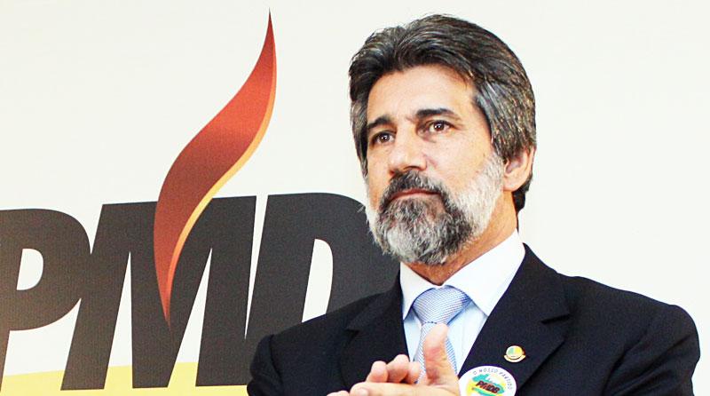 Valdir Raupp, presidente do PT.