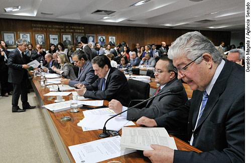 CCJ - Comissão de Constituição, Justiça e Cidadania.