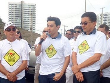 Detran participa do Dia Mundial em Memória as Vítimas de Trânsito.