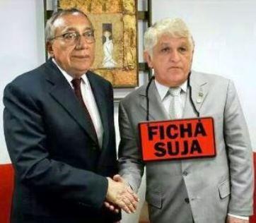 Gastão Vieira e Raimundo Monteiro.