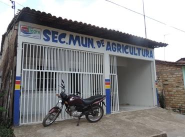 Prédio da secretaria minucipal de agricultura